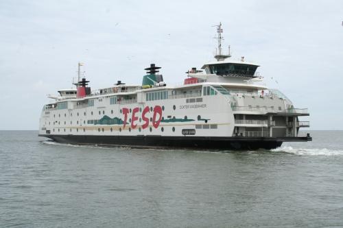Dagelijks transport van en naar Texel